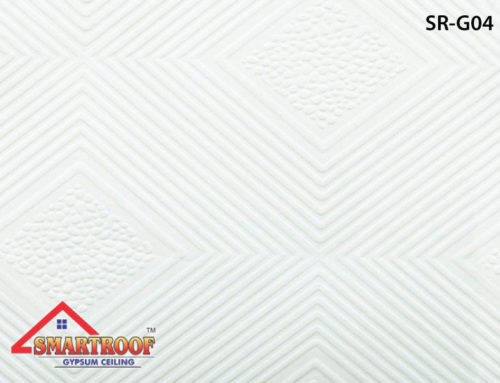 PVC Gypsum Ceiling Tiles SR-004