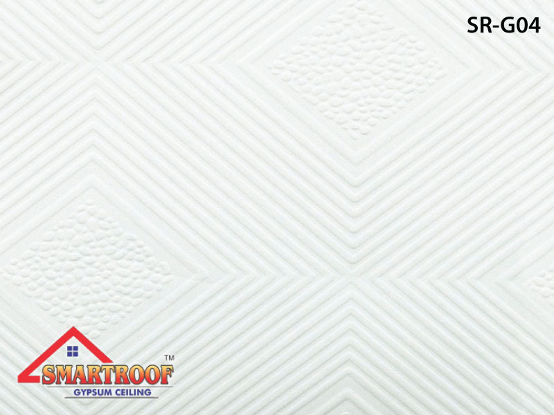 best décor pvc gypsum design tiles low price