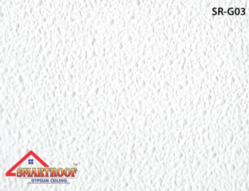 PVC Gypsum Ceiling Tiles SR-003